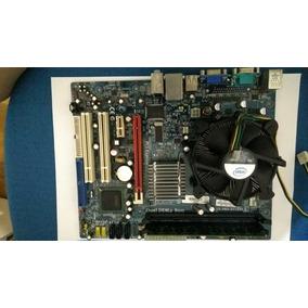 Kit Placa Mae Pentium Duo Core 2.70, 2 Gb Ddr2 (c/defeito)