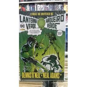 Lendas Do Universo Dc Lanterna Verde Arqueiro Verde Completo