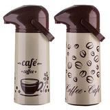 Garrafa Térmica Aladdin Coffe Line 1l Pressão Café - 2 Uni