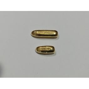 Barra De Ouro Amarelo 18 K 750 Confecção Alianças 10 Gr