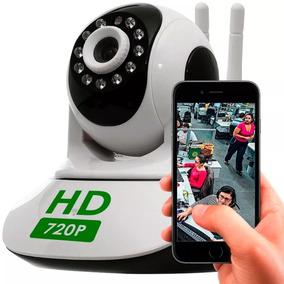 Cameras Ip Sem Fio Hd 720p Com 50% De Desconto+frete Grátis!