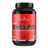 2kg Whey Protein Pro - Powerfoods + Frete Gratis