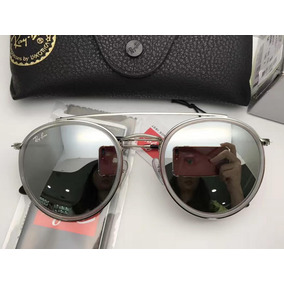 e7fdbb3fdc7f7 Ray Ban Demolidor Rb8012 Prata Lente Verde - Óculos no Mercado Livre ...