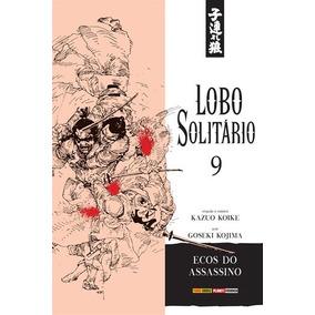 Mangá Lobo Solitário Nº 9 Ed. Junho/2018 - Ecos Do Assassino