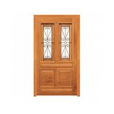 Porta Pivotante Pampulha - 2,28m X 1,20m - Madeira Maciça