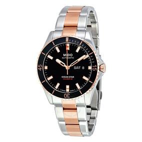 cc20baed9a2 Belo Relogio Mido 8720 Ocean Star Automatic Masculino - Relógios De ...