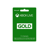 Tarjetas Recarga - Xbox Live Gold