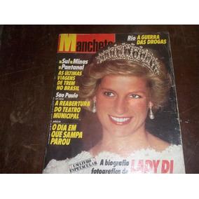 Revista Manchete Nº 1893 Ano 37 Julho/1988 Capa Lady Di