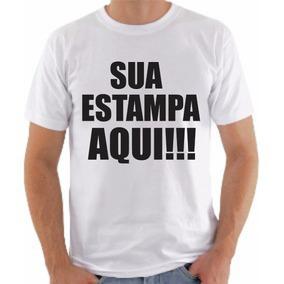 c1d9e3d7fe Camisetas Personalizadas - Camisetas Manga Curta no Mercado Livre Brasil