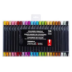 Zebra Zensations - Lápices De Colores Mecánicos, Punta De I 04cdad9bf0