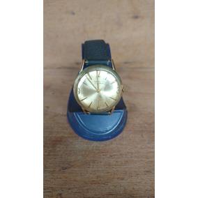 Reloj De Cuerda Antiguo Marvin, Oro Laminado 10 Micras