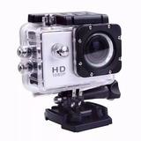 Camara Video Full Hd 1080p Sumergible 30 Mts Moto Deportes