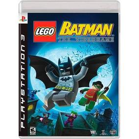Jogo Lego Batman Playstation 3 Ps3 Original Português
