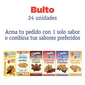 Bulto (24 Unidades) Galletas Sin Azúcar Kseritas