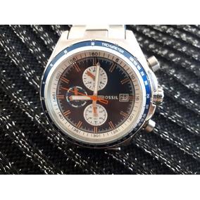 Relógio Original Fossil Prata Em Aço Inoxidável
