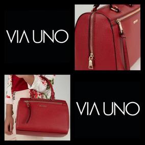 Bolsa Couro Via Uno - Bolsas Femininas no Mercado Livre Brasil 08001c708bc29