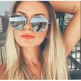 Oculos De Sol Feminino Barato Dais Blogueiras Espelhado - Óculos no ... dcf89c7710