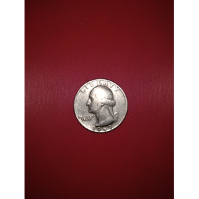 Moeda Americana 25 Cent 1969 Propria Colecionado