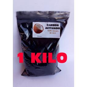 Carbon Activado 1 Kilo 100% Cascara De Coco