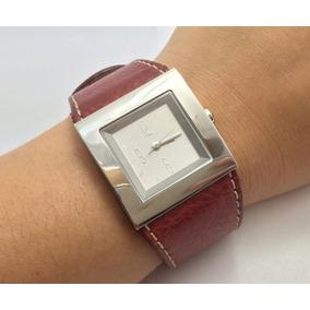 Relógio Feminino Dkny Donna Karan Ny Marrom Original