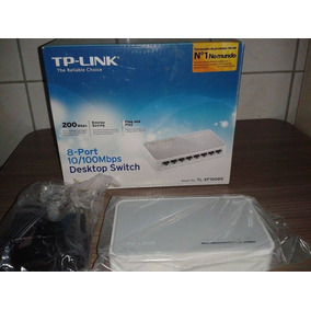 Hub Switch Tp-link 8 Portas 10/100 Mbps