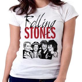 0fad7e4536670 Blusa Feminina Rolling Stones - Camisetas e Blusas para Feminino no ...
