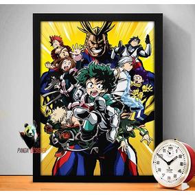 Quadro Boku No Hero Academia Anime My Hero Academia Manga