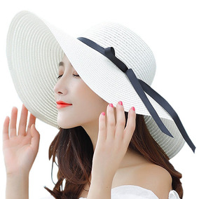 Itopfox Sombrero De Ala Grande Para Mujer Sombrero De Paj f7a8f07910e