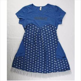 Encantador Vestido Azul Para Dama Manulife Talla Xxl