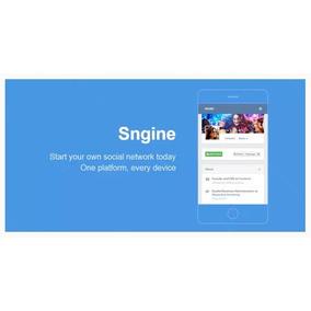 Sngine 2.5.7 - Clone Facebook
