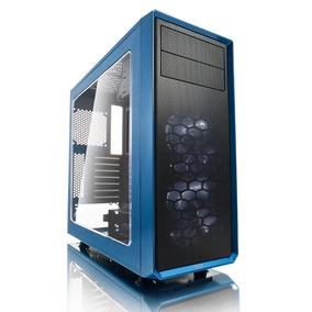 Gabinete Gamer Fractal Design Focus G Azul, Atx, Ventana