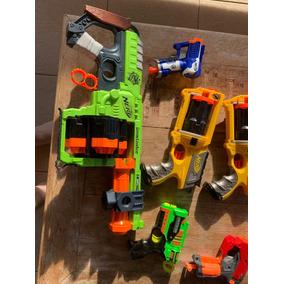 Kit Com 6 Nerf (metraladora Doominator) Usadas