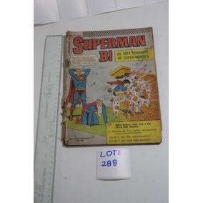= Quadrinhos Lote 288 Superman Bi Nº 12 Ebal Pai Neto Filho
