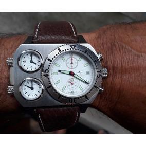 2 (dois) Relogio Swisstar Tri-dial