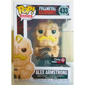 Funko Fullmetal Alchemist Alex Armstrong #433 Gamestop P. En