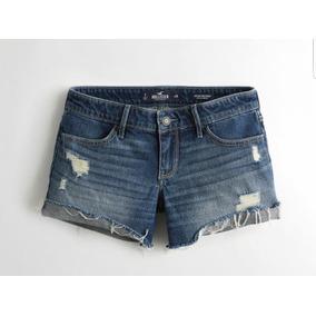 Short Hollister Jeans Novo Original - Consulte Tamanhos