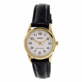 b3af43560ea Relogio Casio Feminino Analogico Dorado De Luxo - Relógios De Pulso ...