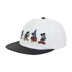 Gorra Vans Mickey Mouse Blanca Hombre Snapback Originales c4804a45728