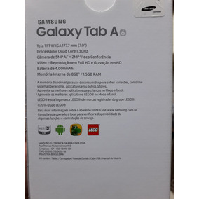 Tablet Samsung Tab A 7 Polegadas