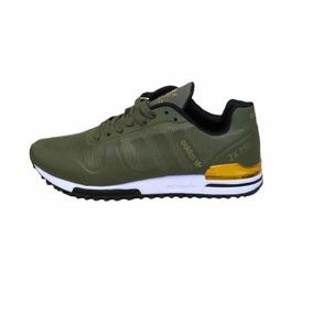 new styles 5b7ba 69871 Tenis adidas Zx750 Verde dorado