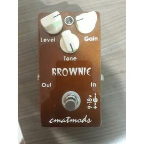 Pedal De Guitarra Cmatmods Brownie Distorcion