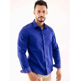Kit 4 Camisa Social Delux Slim Original Frete Gratis