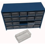 Anaquel Visible Organizador Multiusos D Metal 20 Gavetas E22