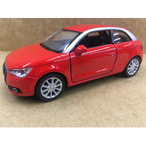 Miniatura Audi A1 2010 Vermelho