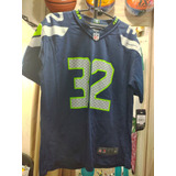 afd918125a Jersey Nfl Seattle Seahawks Tamanho L Youth