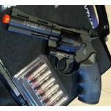 Revolver Airsoft Co2 Colt Python .357 Full Metal 6mm + Case
