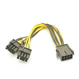 Cable 6 Pines A 2x 6+2 8 Pines Tarjeta Video Pci Express