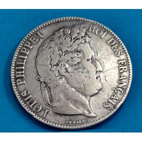 Moeda França 1834 Prata 817br