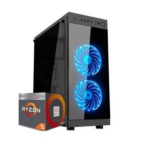 Pc Gamer Cpu Amd Ryzen 5 1400 + 1tb + 8gb Hyperx + Gtx 1050
