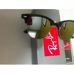 Oculos Espelhado De Sol Ray Ban Clubmaster - Óculos no Mercado Livre ... 4c304afe70